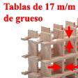 Tablas de 17 mm de grueso